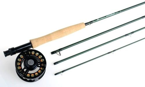 Fishing with a fly Rod