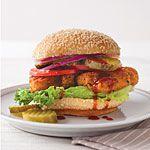 Crispy Chicken Sandwiches Recipe   MyRecipes.com