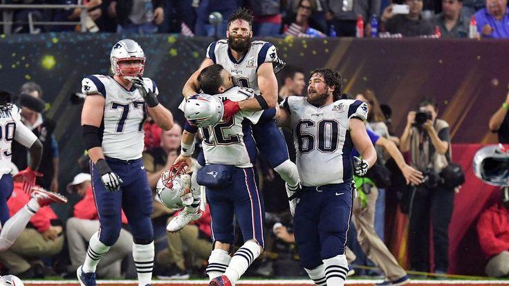 NFL-finalen i amerikansk fotboll utvecklade sig till en riktig nagelbitare. Efter en makalös upphämtning – och förlängning – segrade New England Patriots över Atlanta Falcons i Super Bowl.