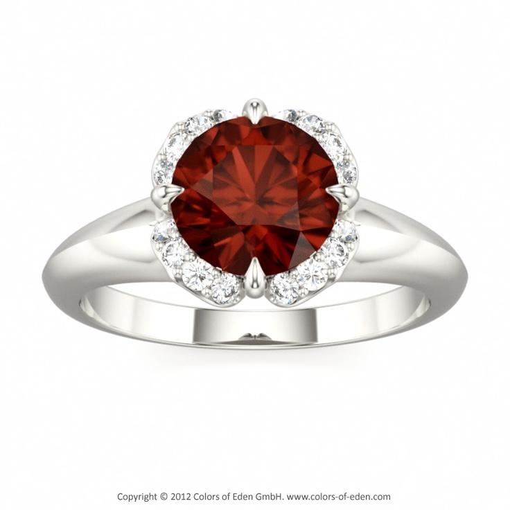 Morning Star Engagement Ring