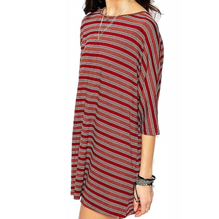 Rochie Dama NOISY MAY Lissette 3/4 Eyes Red