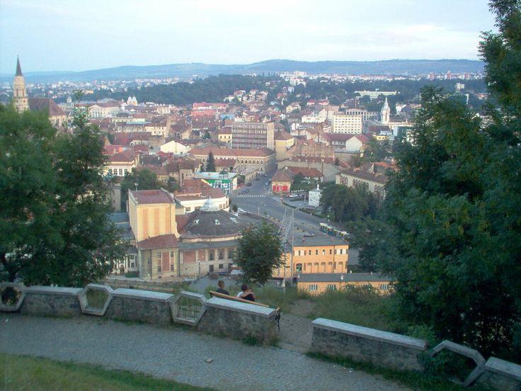 Cluj-Napoca,vedere de pe Cetatuie,Cluj(Romania)