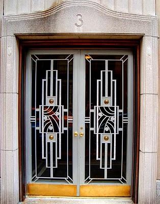 Art Deco Doors In N Y C Pinterest Door And