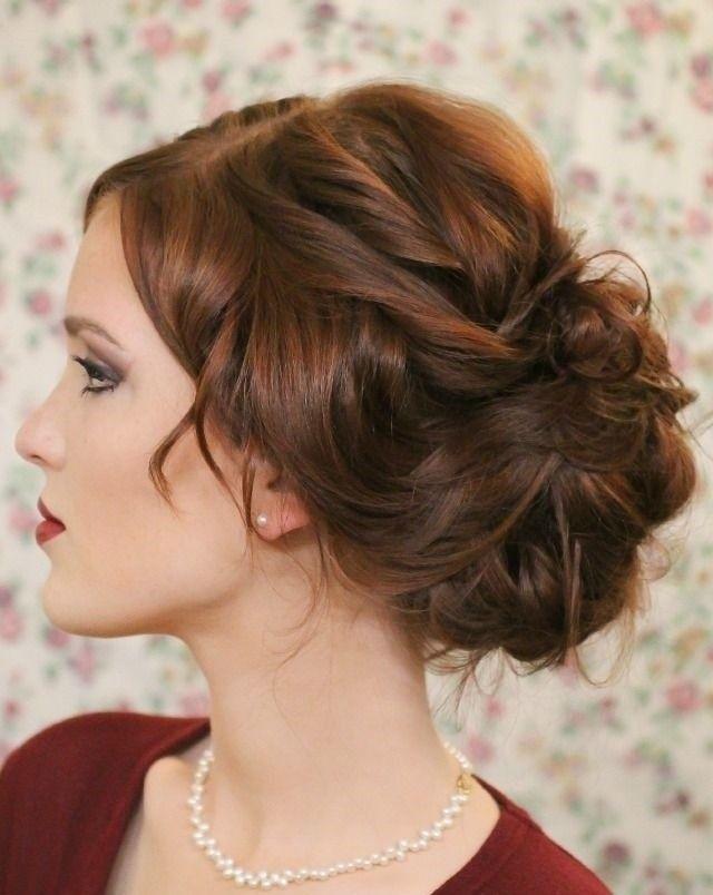 Best Mariage Attache Bohème Chic Images On Pinterest Wedding - Diy chignon boheme