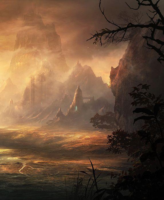 Fantasy Art Engine | fantasyartwatch: Eminus by Kentaro Kanamoto