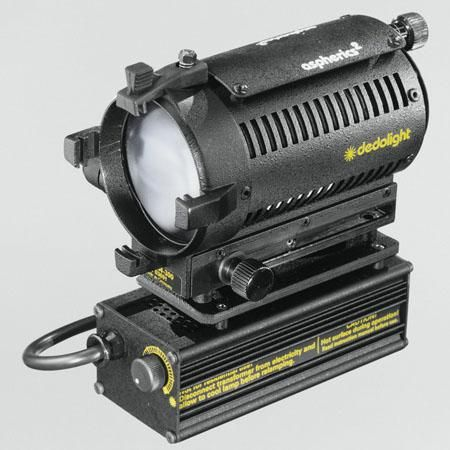 Dedolight DLHM4, 150 Watt Tungsten Zoom Focus Light Head with Integrated 150W Electronic Transformer, for 120 Volt.