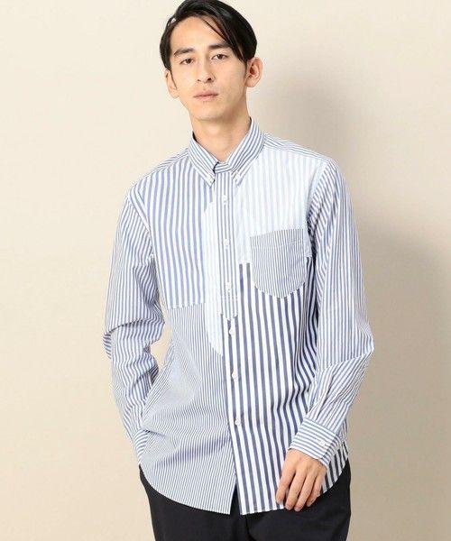 【ZOZOTOWN|送料無料】Jipijapa(ヒピハパ)のシャツ/ブラウス「【別注】<jipijapa(ヒピハパ)> STRIPE CRAZY SHIRT/シャツ」(12115997219)を購入できます。