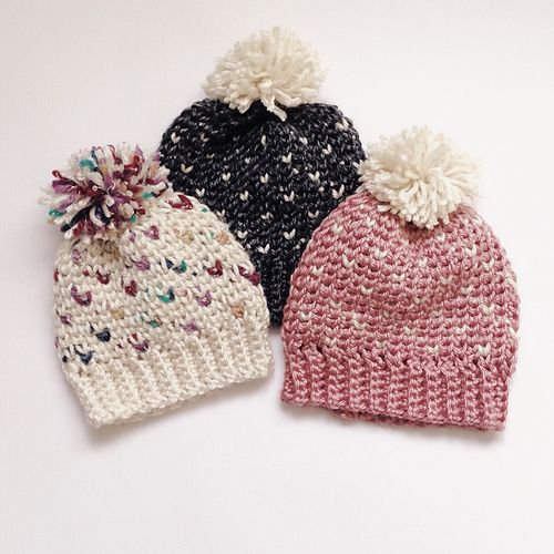 The Fair Isle Pom Hat crochet PATTERN. Don't know how I knit? That ok, this is a CROCHET  pattern! Sizes baby- adult. This is such a cute winter hat
