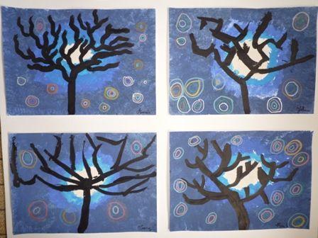 Ecole Paul Langevin - La Garde - Les arbres d'hiver