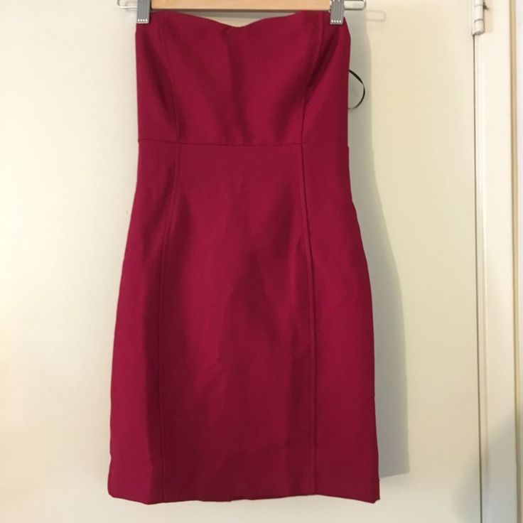 NWT Women's Forever 21 Strapless Red Dress Size Small | Clothing, Shoes & Accessories, Women's Clothing, Dresses | eBay!