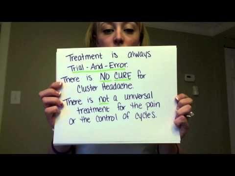 Cluster Headache Awareness YouTube Video