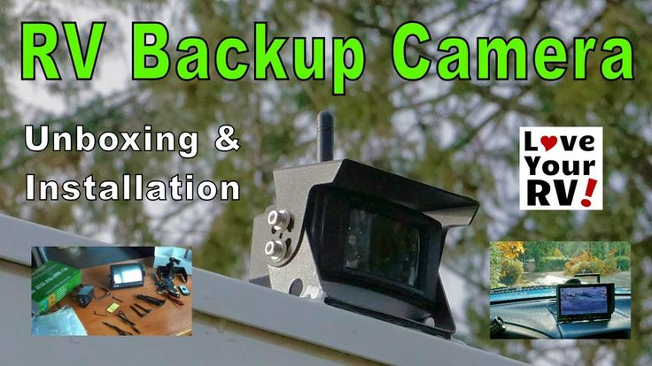 See full blog post - http://www.loveyourrv.com/installing-tadibrothers-wireless-rv-backup-camera-system/  In this video, I unbox and install a new wireless RV Backup Camera for our fifth wheel trailer from @tadibrother0005  TadiBrothers.com