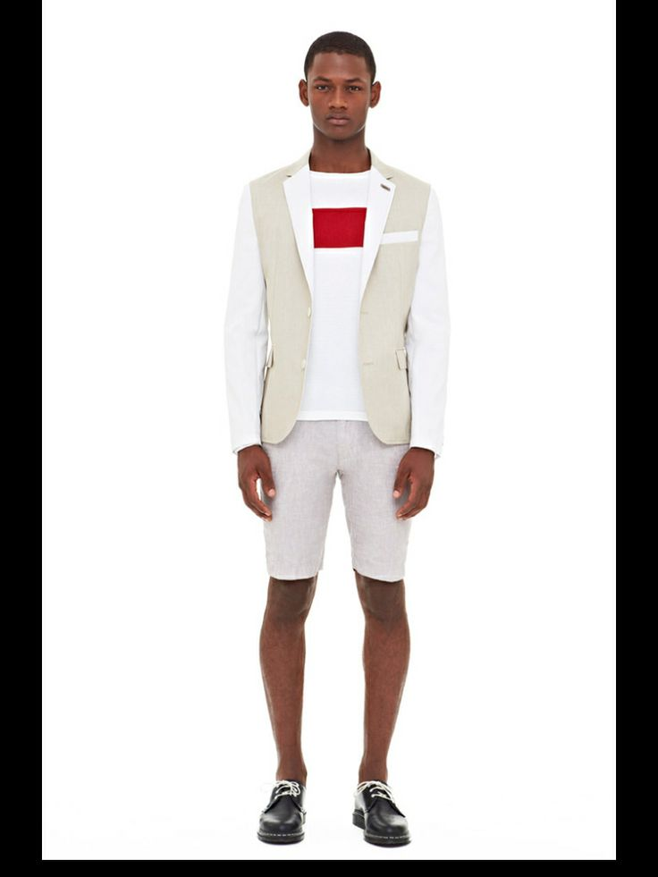 Shorts + Blazer = Perfection