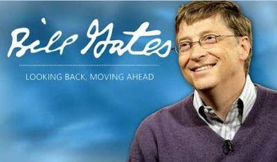 Worlds Richest Man Bill Gates spotted taking a ride in Keke Napep (Photo)