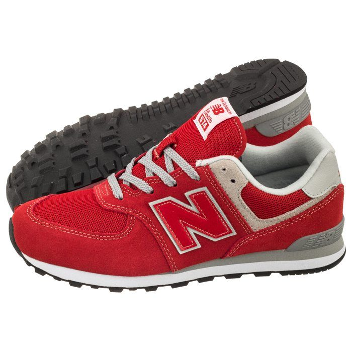 Buty New Balance Gc574rd Czerwone W Butsklep Pl New Balance Sneaker Shoes Sneakers