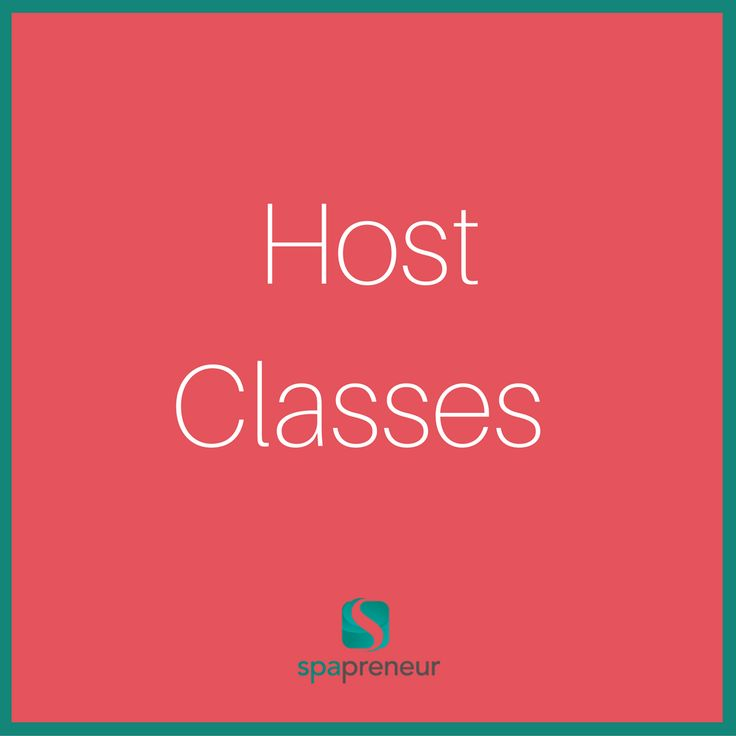 If you can host classes for continuing education credit then awesome - a great way to get your spa on the market. If you can't do continuing education, then you can offer classes for your clients. A few weeks before Valentine's Day, hold a couples massage, or an aromatherapy class where everyone makes their bath salts. #100 #spa #businessadvice #spaadvice #spalife #guide #spatips #tips #ebook #massage #skincare #nails #nailcare #dayspa #spaprofessional #businesstips #biztips #biztip