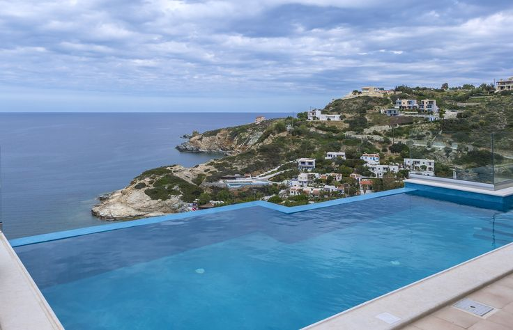 #Infinity #Villa near #Heraklion city will offer you the #holiday of your #dreams! Featuring a #wonderful #pool and #amazing #sea #view, this #villa is the perfect place to #relax, #calm down and #enjoy the blue #sky and fresh air! Gaze upon the #horizon and forget about everything else!
