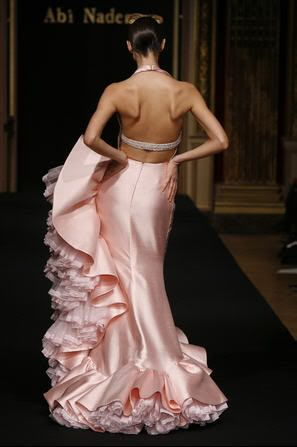 Robert Abi Nader: Couture Wedding Dresses, Pink Ruffles, Blushes Pink, Fashion Clothing, Beautiful Dresses, Abi Nader, Robert Abi, Haute Couture, Pink Gowns