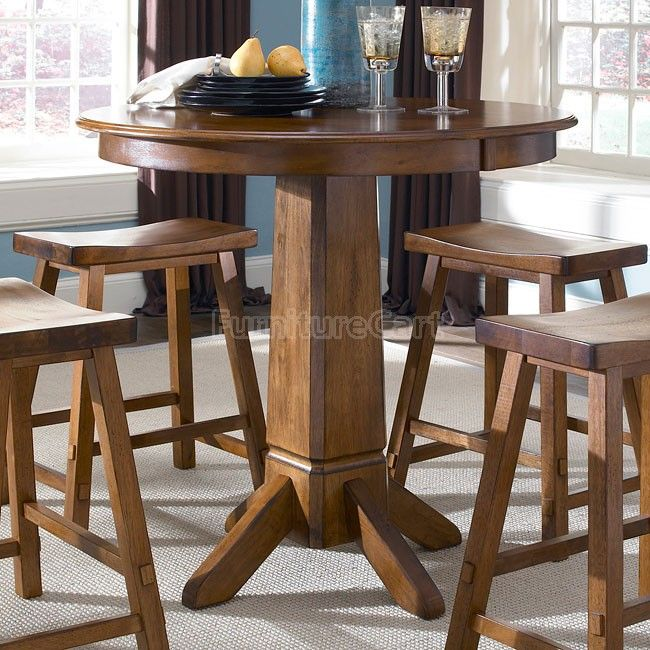 Liberty Furniture Creations II Casual Dining   Pub Table In Tobacco Finish