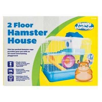 Hamster Cage - Unit price £6.60 - Case quantity 6