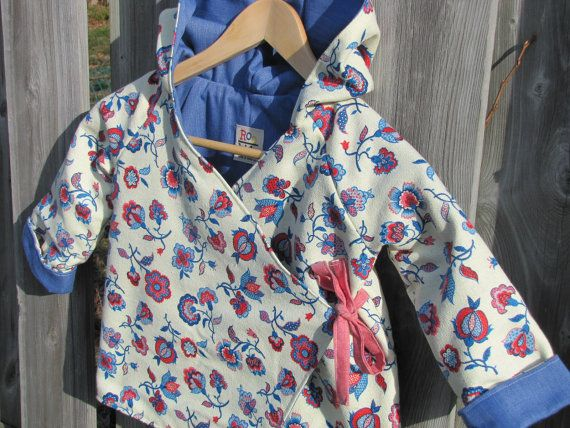 Children's Hoodie Jacket Size 4 by ReneeBou on Etsy, $49.95