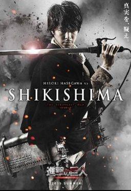 Live Attack on titan movie, Shikishima (Levi?)