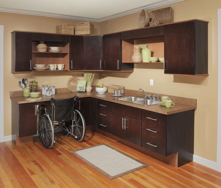 Dark Cabinets With Light Hardwood Floor   Opposite Color Scheme