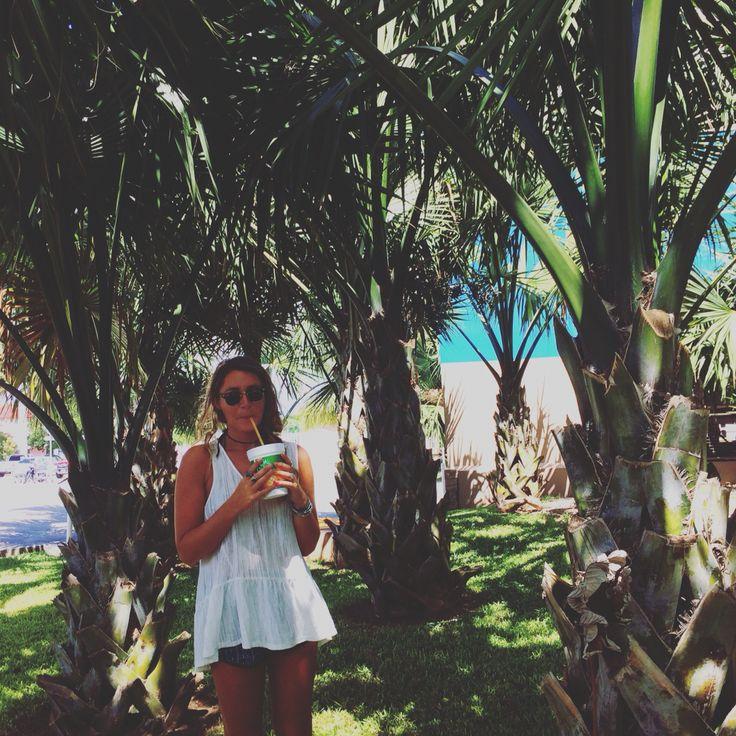 {#Lifestyle } cooling off with some fresh dragonfruit juice...  #playa #beachlife #playadelcarmen #lifestyle #playadelstyle