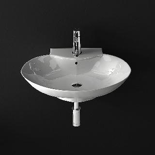 Design Keramikwaschbecken 340-5141