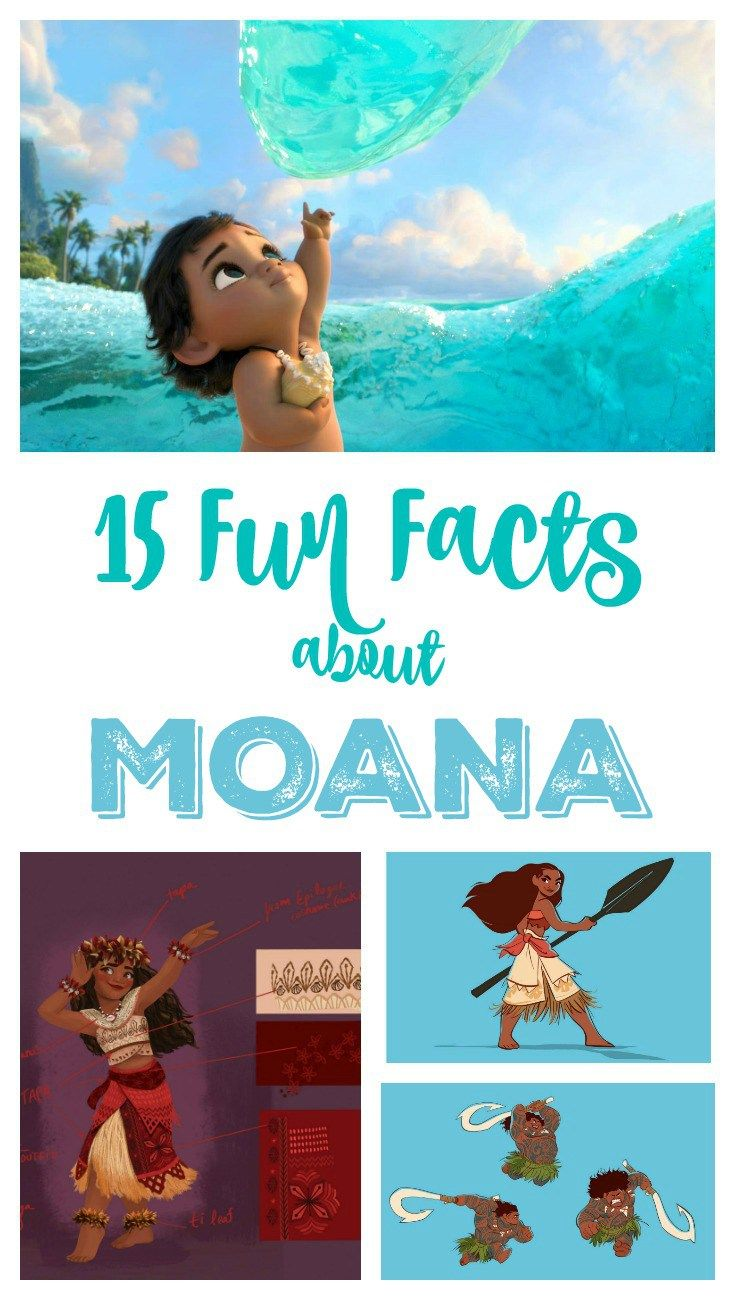 15 Fun And Easy Sewing Projects For Kids: 15 Fun Facts About Moana
