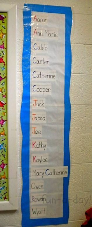 15+ Name Activities for Preschoolers from www.fun-a-day.com -- Many meaningful ways for young children to learn their names in age-appropriate ways. These ideas would be perfect in preschool, kindergarten, home schools, and just for fun!