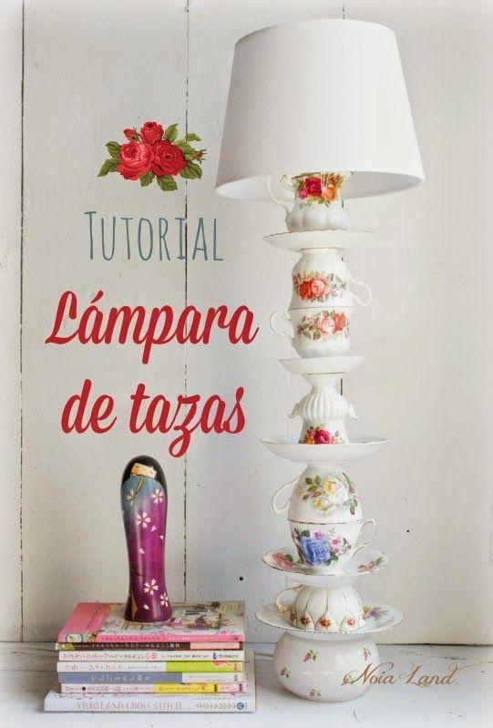 Tutorial: Lámpara de tazas