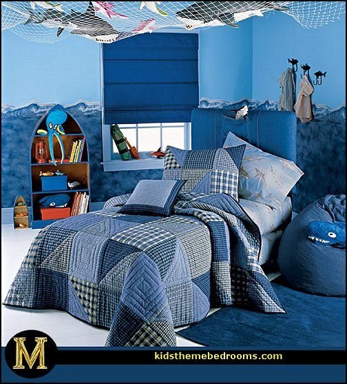 sea theme room | ... sea theme bedrooms - mermaid theme bedrooms - sea life bedrooms