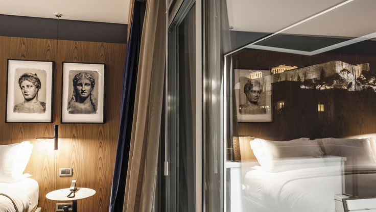 Amazing view of #Acropolis, right from your #suite! #AthensWas #AthensHotels #DesignHotel