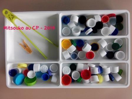 Dyspraxie : matériel facile à rassembler et activité en autonomie pour l'élève.
