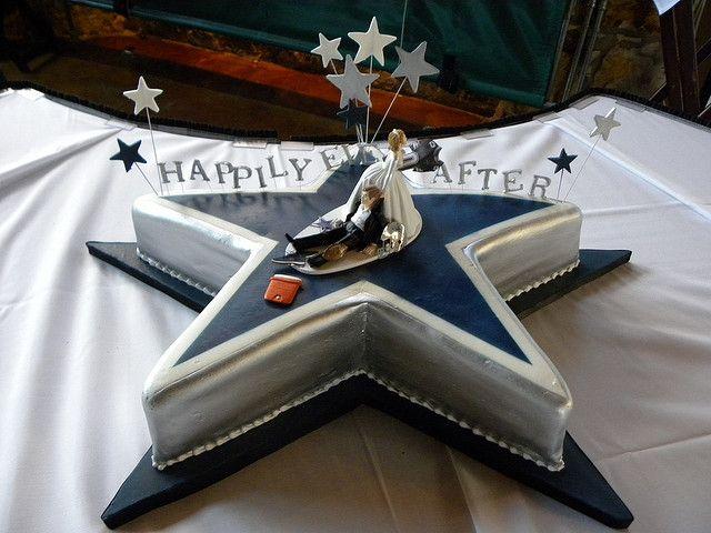 Dallas Cowboys Groom's Cake