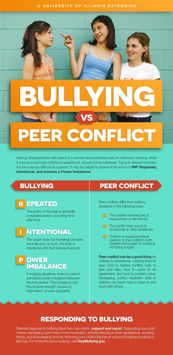 """A must-read for parents – how to tell the difference between """"normal"""" peer conflict vs. bullying."""