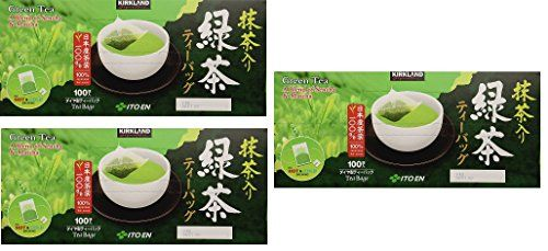 Kirkland Ito En Matcha Blend Japanese Green Tea, 1.5g tea bags, 300 Count