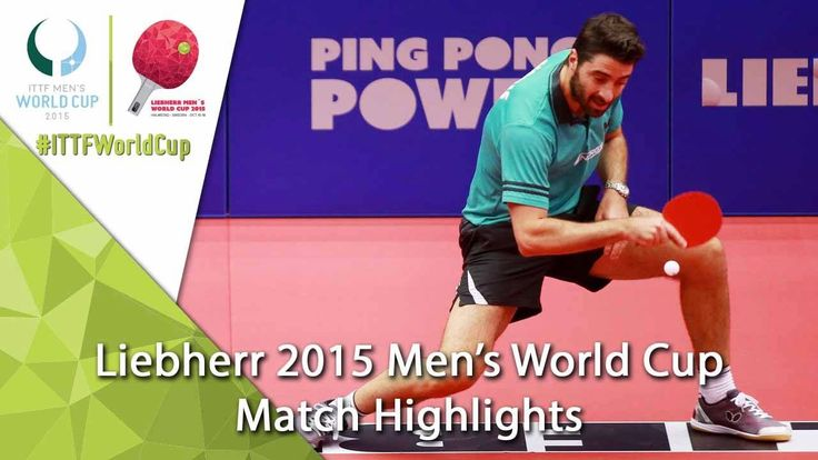 2015 Men's World Cup Highlights: GIONIS Panagiotis vs BUTLER Jimmy (Qual...