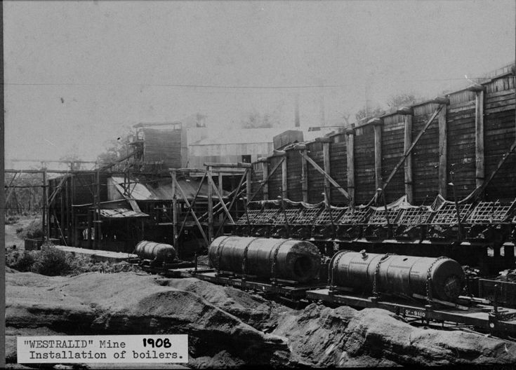 024819PD: Westralia Mine, installation of boilers, 1908 http://encore.slwa.wa.gov.au/iii/encore/record/C__Rb3507690?lang=eng