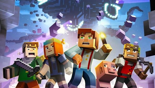 Image result for minecraft story mode wallpaper
