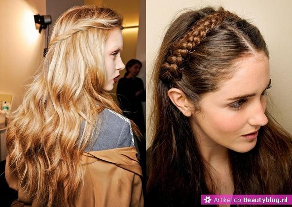 Onder de haartrends voor winter 2012-2013 zijn gevlochten of gedraaide kapsel weer een grote hype. Tijdens de modeshows was dit op verschillende manieren terug te zien. Van gedraaide plukken tot gevlochten haarstukken, met deze stijl kun je alle kanten op.