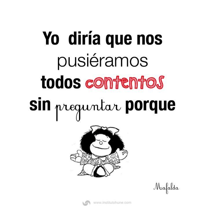 #Motivación #Mafalda #Frases