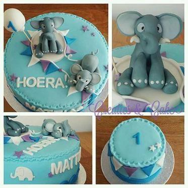 Elephant cake for Matthias