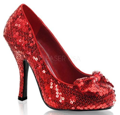 Women's Sequin High Heel Pump Shoes
