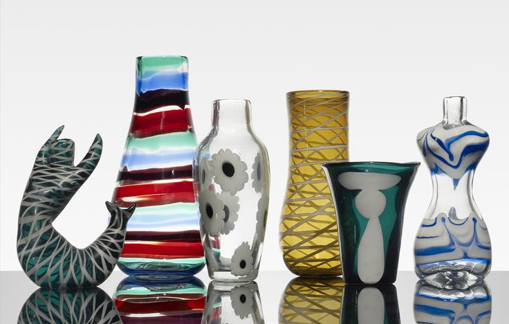 1000 images about mid century murano on pinterest for Bikini vases