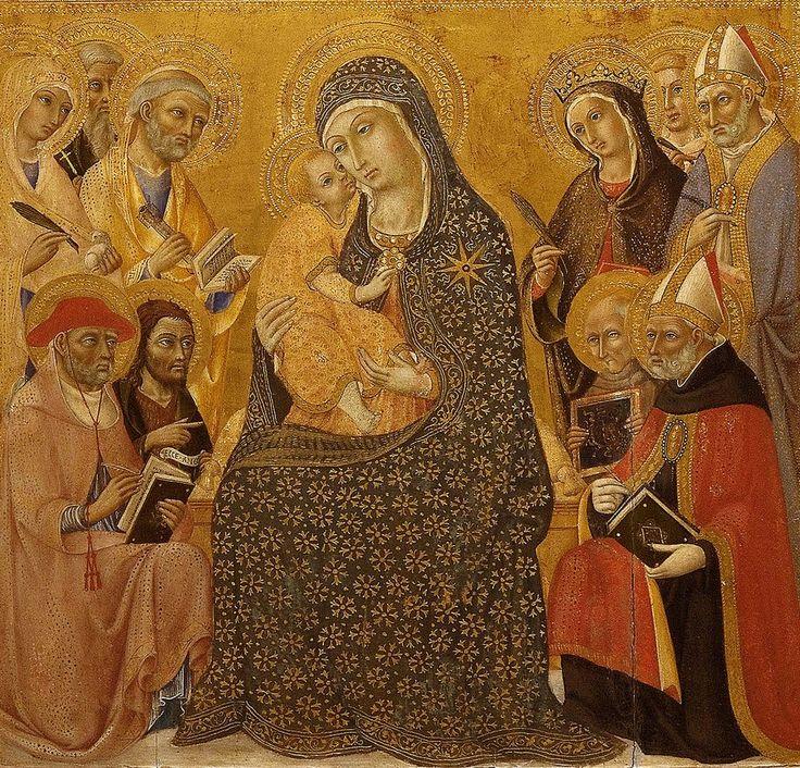 Simone martini c 1284 1344 madonna and child 1320 the mus 233 e
