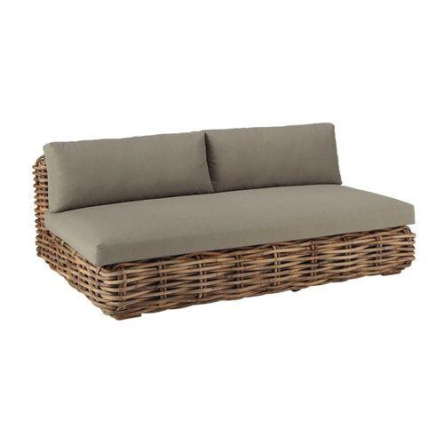Gartensofas  25+ beste ideeën over Gartensofa rattan op Pinterest - Rattan sofa ...