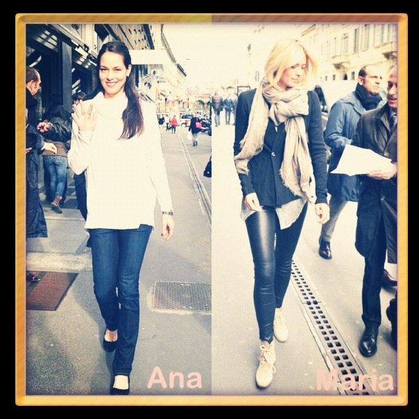 Ivanovic & Sharapova