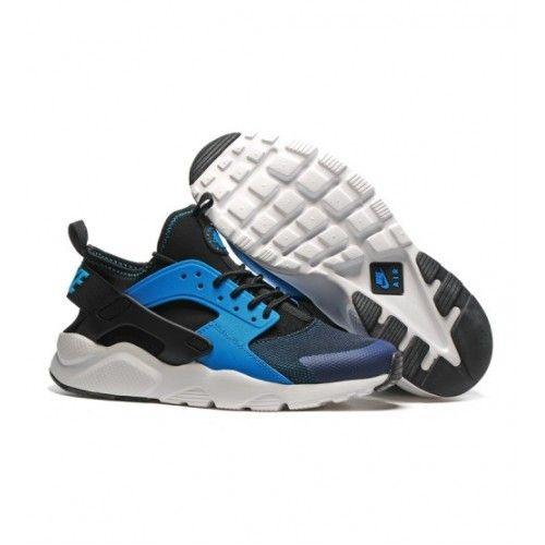 Bast Nike Air Huarache Dam Loparskor Svart Bla 0343